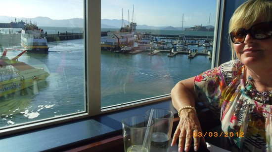 Fog Harbor Fish House : Clear sunny day, so lucky