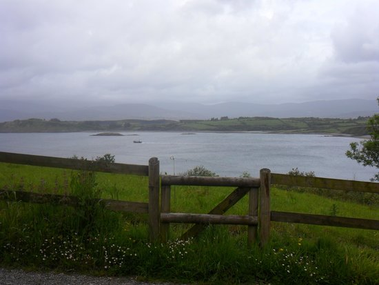 Dromcloc House: Looking towards Widdy Island from the grounds
