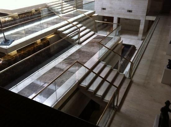Dan Jerusalem Hotel: vista desde la recepción