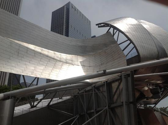 Jay Pritzker Pavilion: eccolo