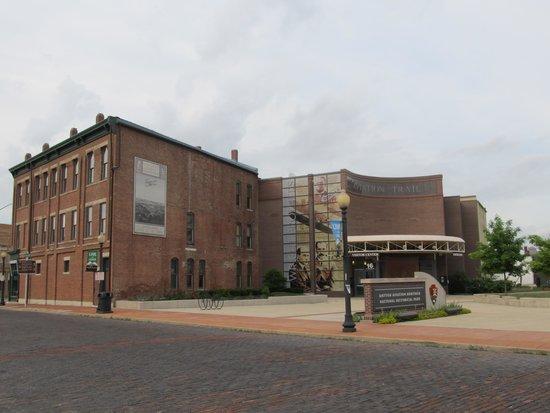 Dayton Aviation Heritage National Historical Park: Entrance