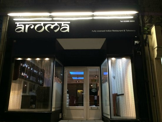 Гранж-овер-Сандз, UK: Aroma Indian Restaurant & Take Away