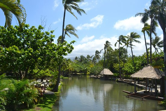 Polynesian Cultural Center : Part of PCC - we were on the boat