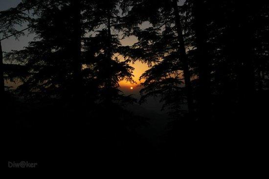 Gun Hill: Beautiful Sunset from GUnHILL