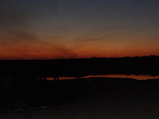 Somalisa Camp: Sunset in Hwange