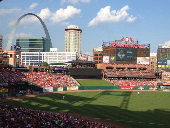 Busch Stadium: Fantastic evening at the ballpark
