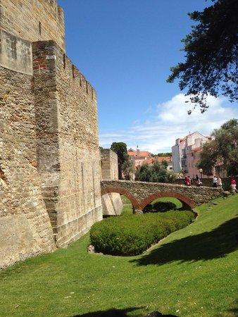 Castelo de Sao Jorge : Castillo
