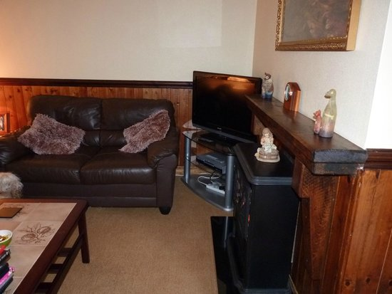 Mull of Galloway Holidays : cosy lounge