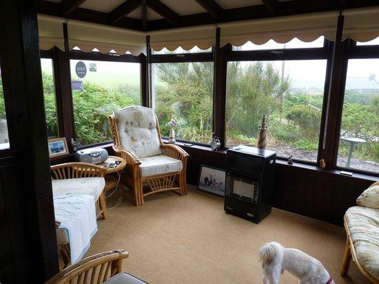 Mull of Galloway Holidays : conservatory