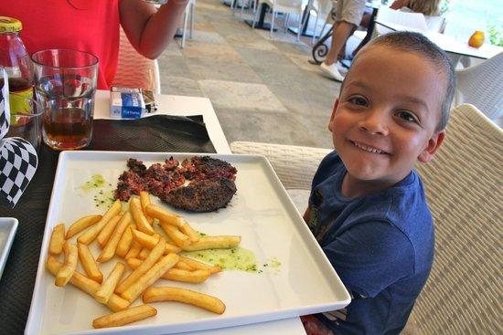 Acula marina : steack frites