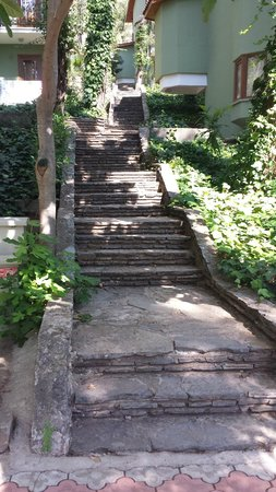 Marmaris Park: 60 steps for my morning exercise :-)