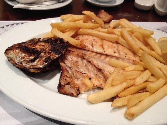 Fish Corner Restaurant: Гриль