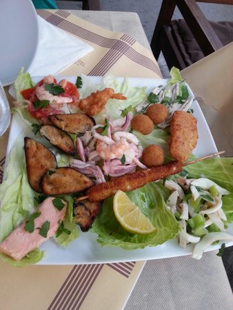 Meeting, Incontro Di Gusti : Antipasto mix pesce