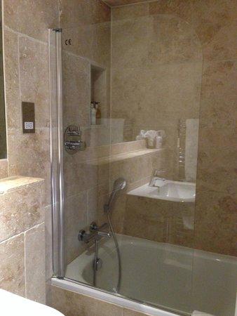 Paradise House B&B : Shower in bath