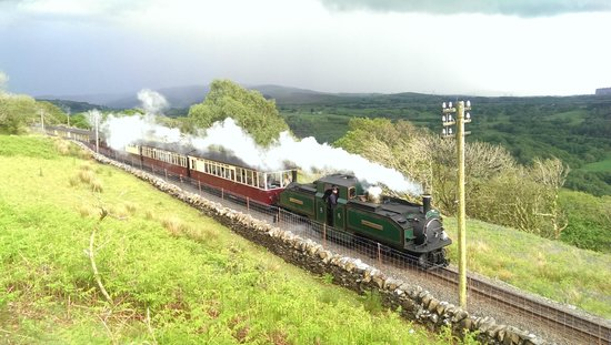 Tal-Y-Bont Country House B&B: Train Line near accommodation
