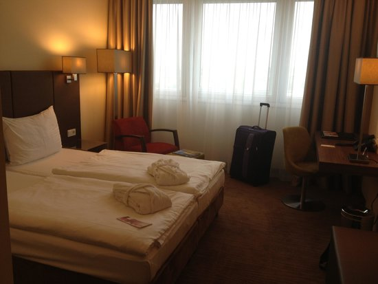 Austria Trend Hotel Doppio Wien: Bedroom