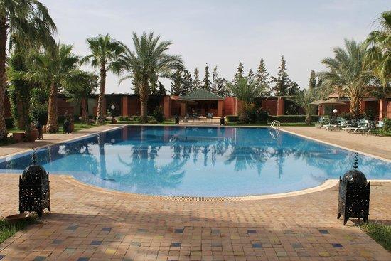 Hotel Le Riad: Espace piscine