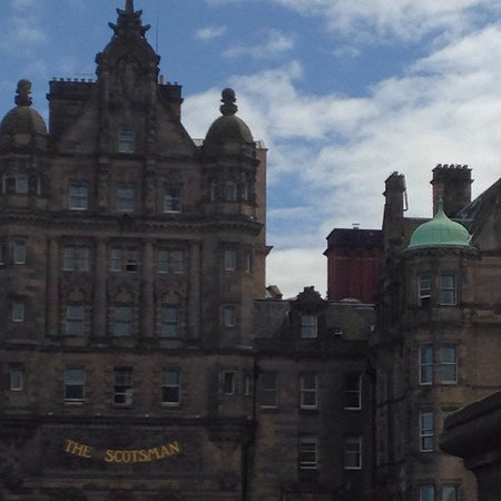 The Scotsman Hotel: Beautiful Building