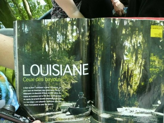 LeBlanc Swamp Tours: national geographic