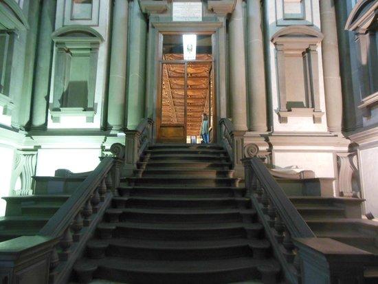 Laurentian Library: Vestibule