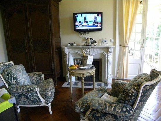 Chateau de Damigny: Chambre