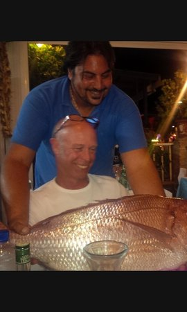 Nick the Fisherman : Larry and the big fish