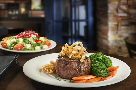 Matt the Millers: Filet with Mixed Vegetables and small balsamic salad