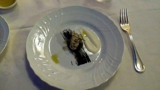Oliviero Restaurant - Belmond Villa Sant'Andrea: Piatto di benvenuto