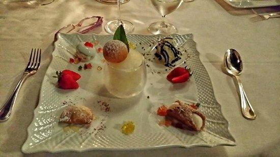 Oliviero Restaurant - Belmond Villa Sant'Andrea: I 5 dessert