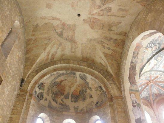 Château de Prague : 聖イジ―教会の天井