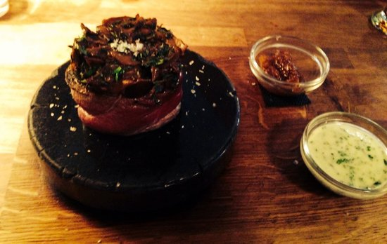 The Rustic Stone : Filet mushroom & tarragon