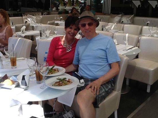 Lunch at Le Quai