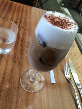 Grand Hyatt Tokyo: Wonderful iced cappuccino