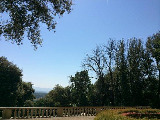 Villa Le Maschere: Vue depuis la terrasse du restaurant