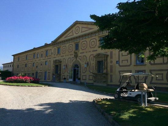 Villa Le Maschere: Réception