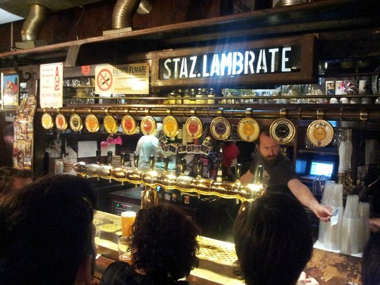Birrificio Lambrate: The bar with all the beers on tap