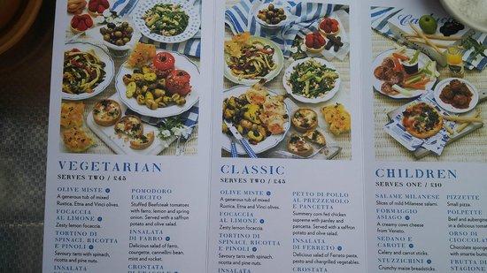 Cabot Circus: Tasty Italian food at Carluccio's