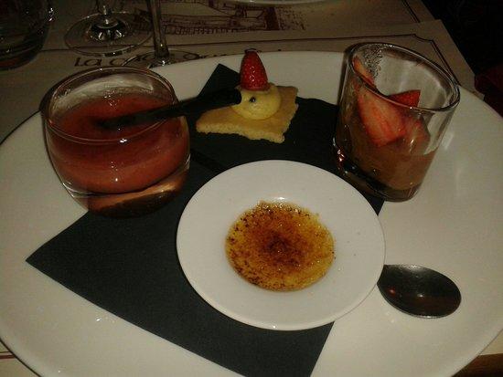 La Cave aux Fioles: Dessert proposé dans l'un des menus, un vrai régal