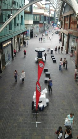 Cabot Circus: A bird's eye view from second floor