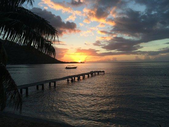 Fare Vaihere : sunset