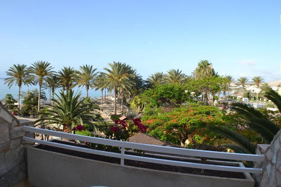 SBH Costa Calma Beach Resort : nice view from our balcony.