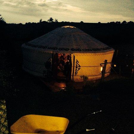 Love2Yurt: Bramble yurt