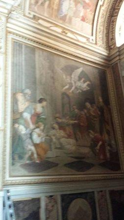 Church of St. Louis of the French: Domenichino:la morte di santa Cecilia