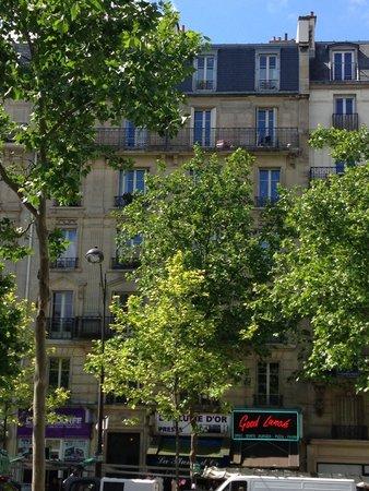 Hotel de la Porte Doree: From room #36