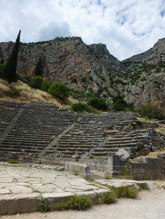 Ruines de Delphes : theatre