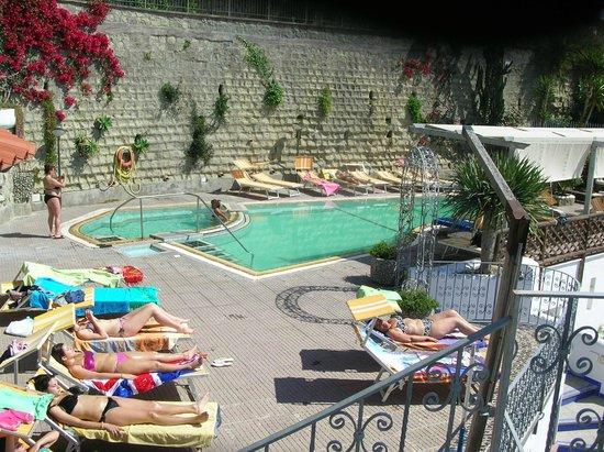 La Rosa Parco Residence: piscine termali esterne