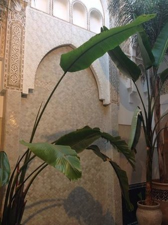 Riad Palau: Hall