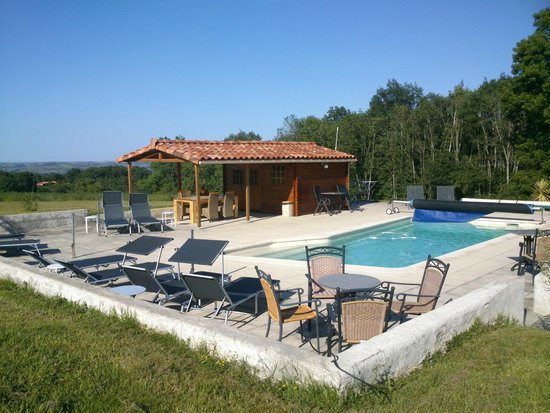Domaine Peyssoule: prachtige tuin, mooi (verwarmd)zwembad