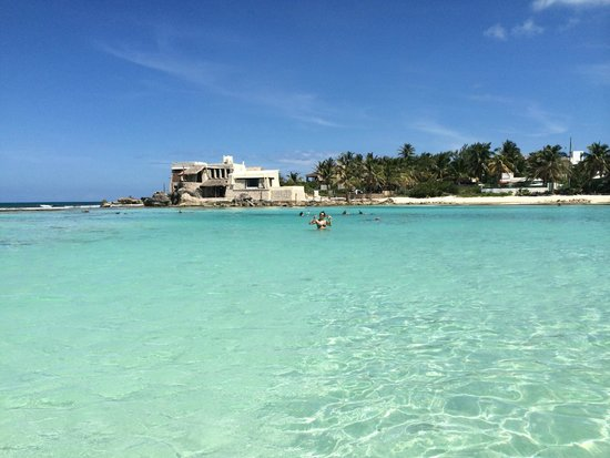 Mia Reef Isla Mujeres: Enjoying the paradise, the water is so clear