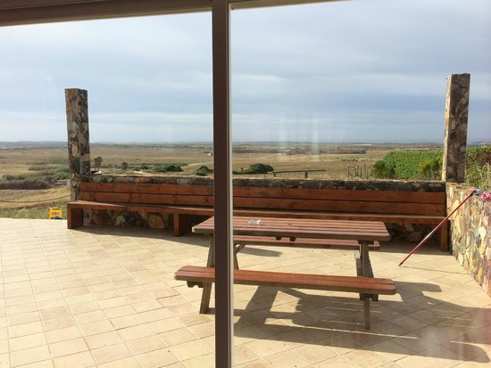 Monte de Santo Antonio: View from the common living room and external terrace